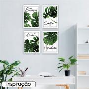 Quadro Decorativo 35x50cm Agradeça - Art Frame