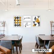 Quadro Decorativo 50x35cm Gratidão - Art Frame