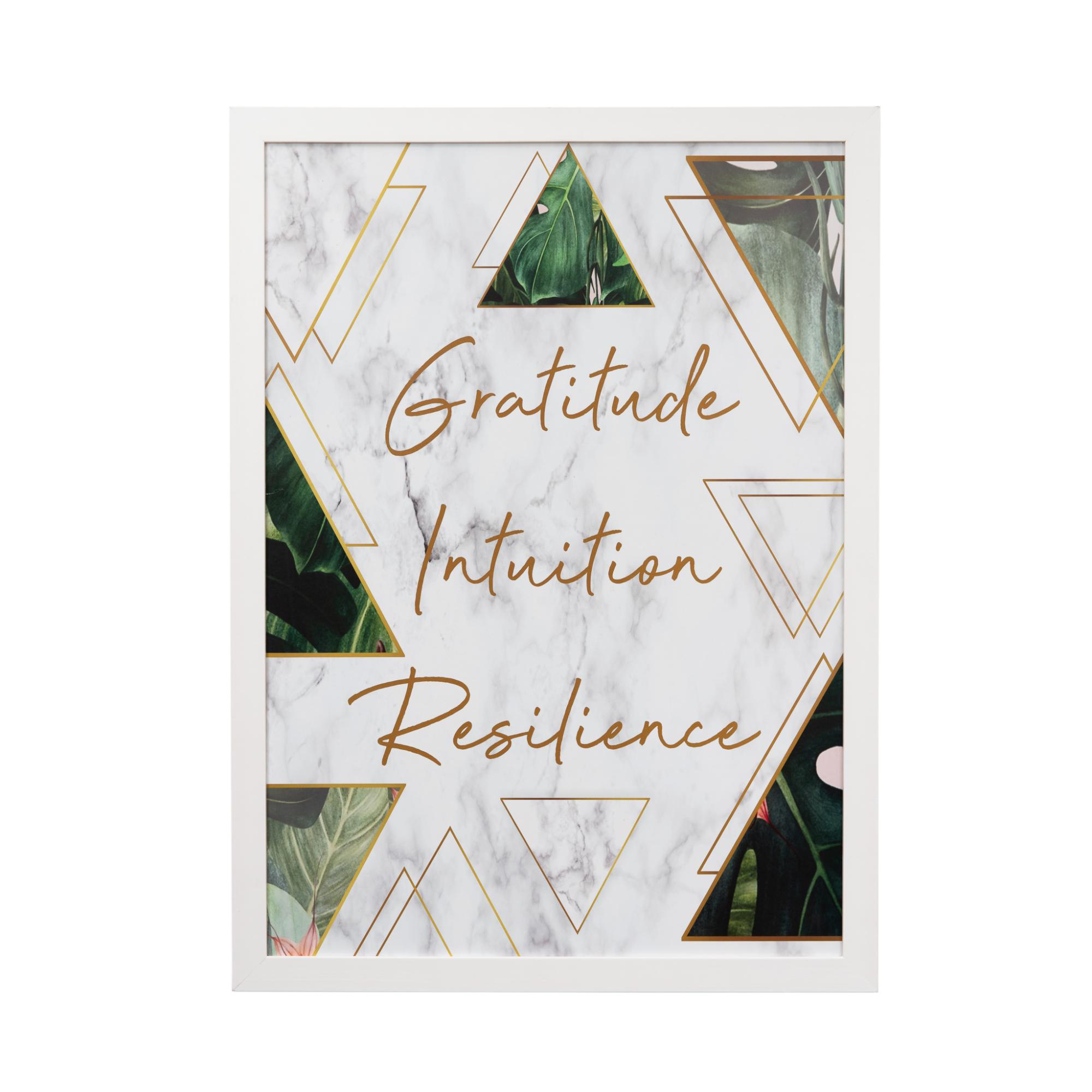 Quadro Decorativo 50x70cm Gratitude - Art Frame