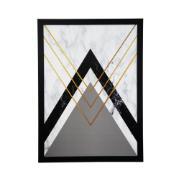 Quadro Decorativo 50x70cm Preto - Art Frame