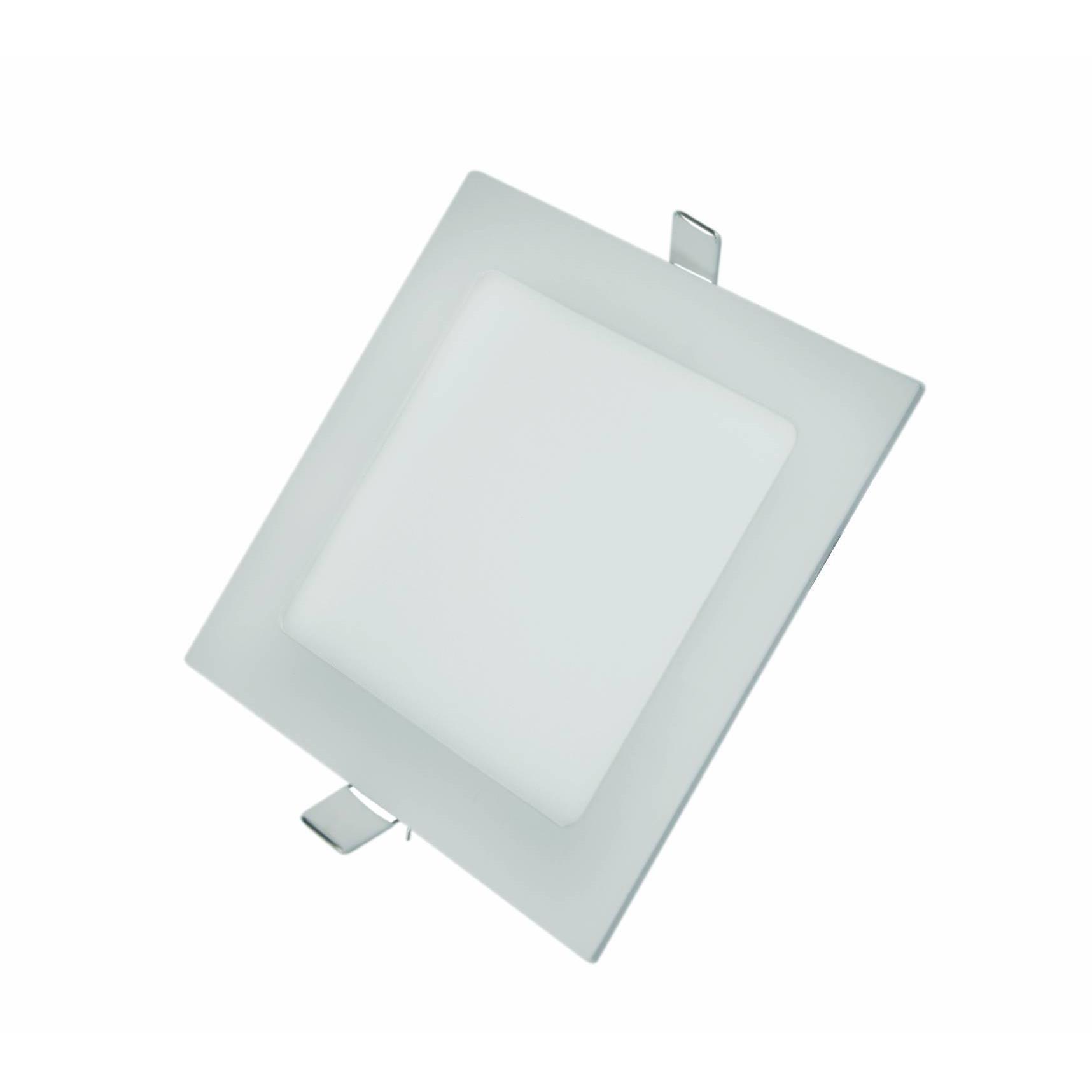 Painel LED Slim de Embutir Quadrado 18W 4000K Autovolt - Glight