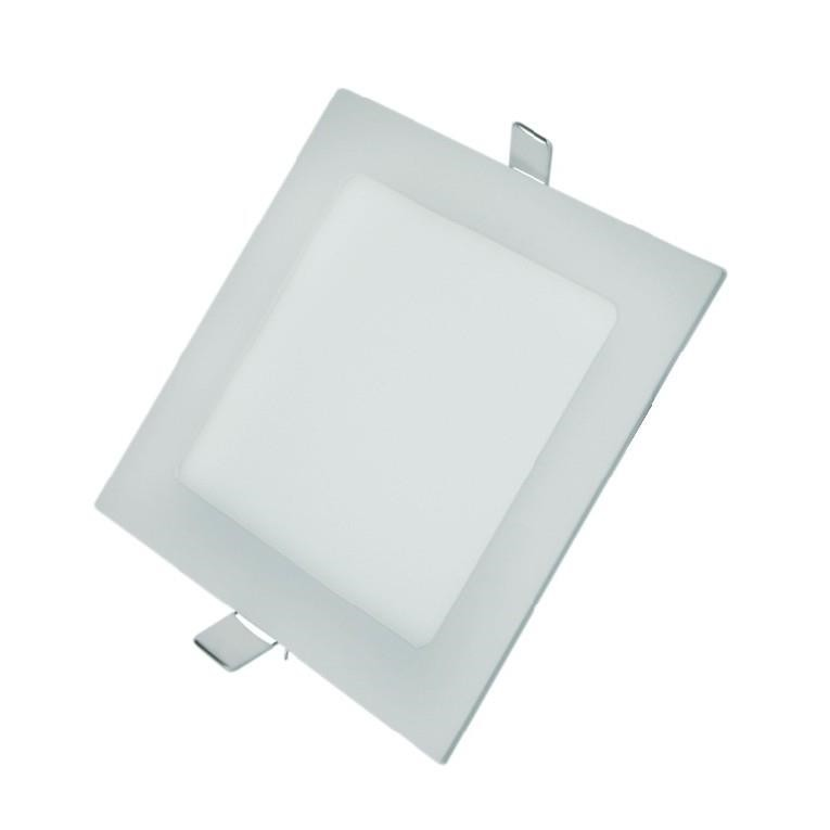 Painel Slim Ecoled Quadrado Embutir 14W Branco - Glight