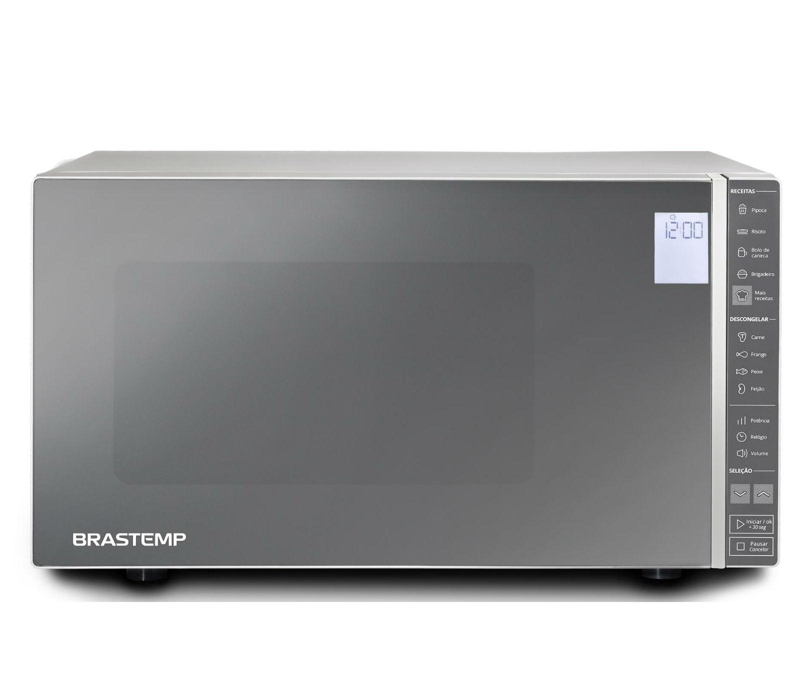 Micro-ondas Brastemp BMS45CRANA 110V 32L com Painel Touch