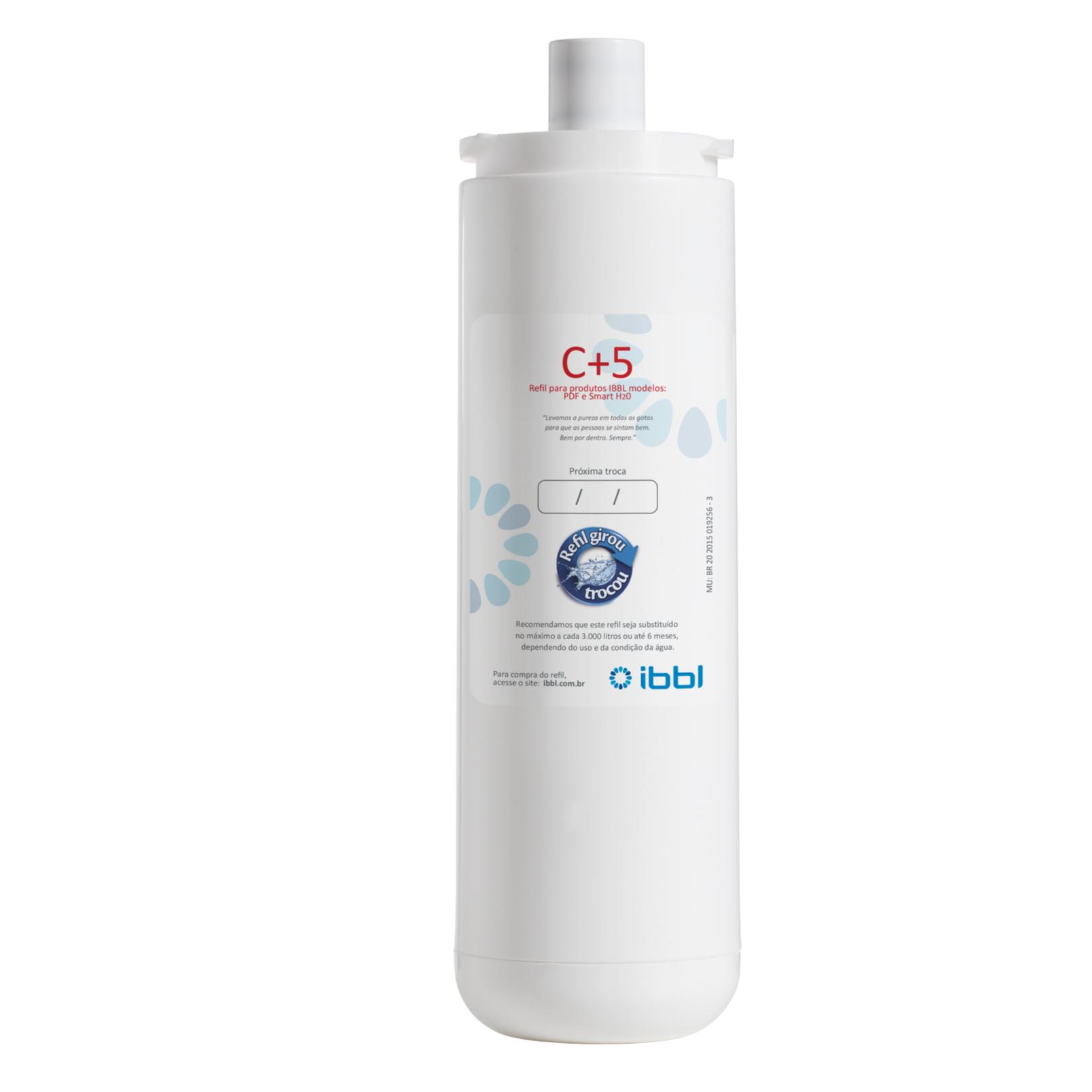 Refil para Filtro Purificador C5 - IBBL