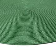 Pano Americano Redondo Verde 38 cm 1 Peça Fio de Poliéster - Bianchini