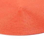 Pano Americano Redondo Coral 38 cm 1 Peça Fio de Poliéster - Bianchini