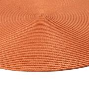 Pano Americano Redondo Terracota 38 cm 1 Peça Fio de Poliéster - Bianchini