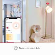 Lâmpada Smart LED Lis Wi-Fi Bulbo Inteligente 10W RGB E27 Autovolt
