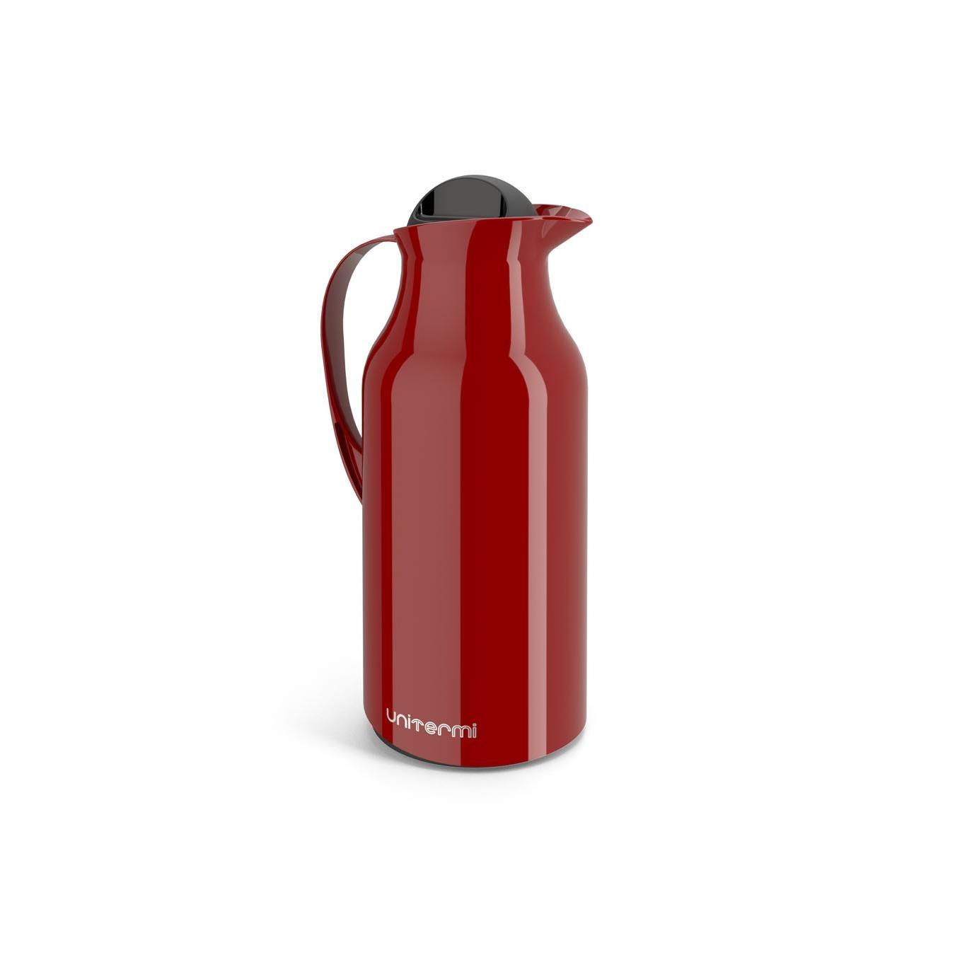 Garrafa Termica 750ml Siena Vermelho - Unitermi
