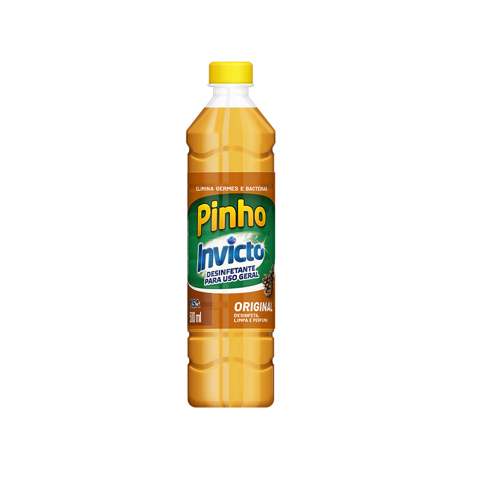 Desinfetante Multiuso Pinho Invicto Original 500ml - Asa