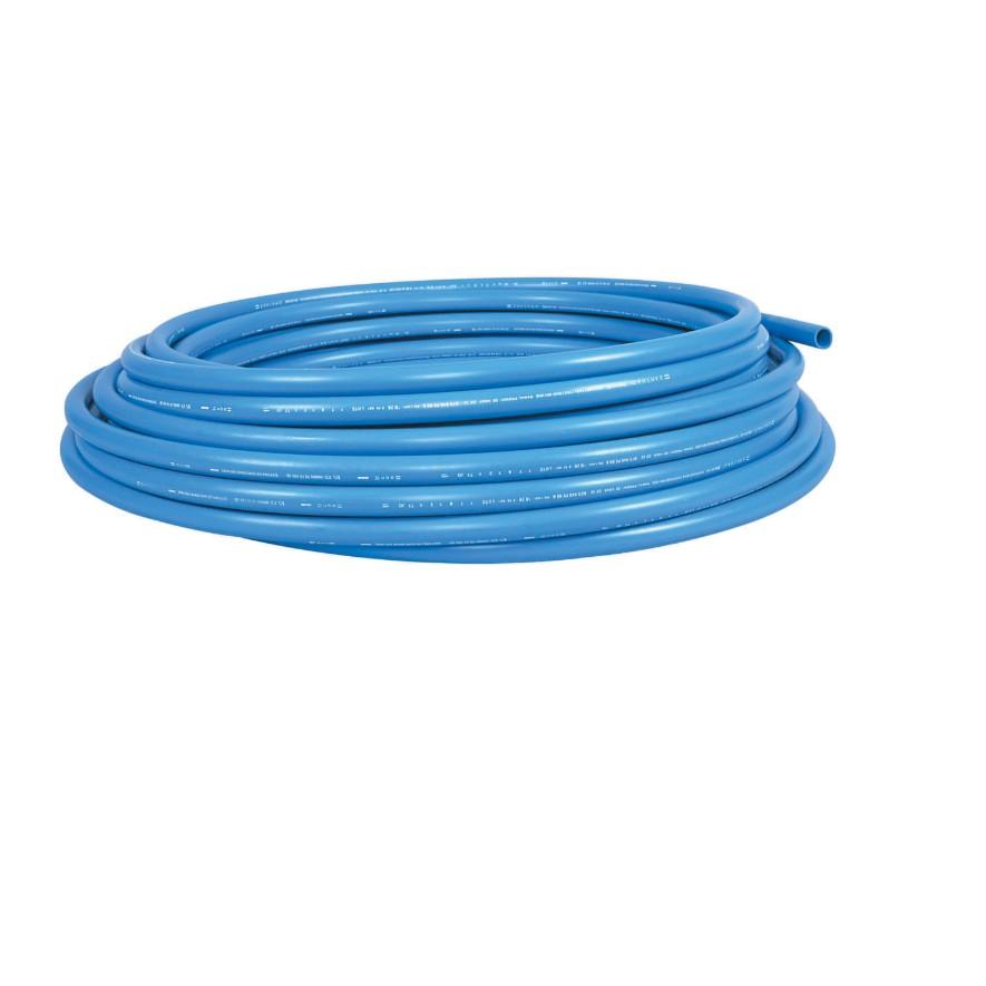 Tubo Soldavel e roscavel 20 mm x 50 m Azul - Amanco