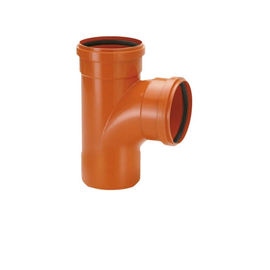 Te Simples PVC 150 mm FF - Amanco