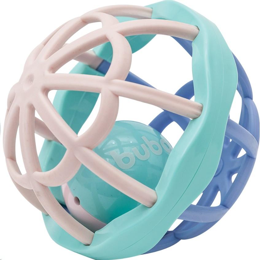 Baby Ball Cute Colors com Chocalho Interno - Buba