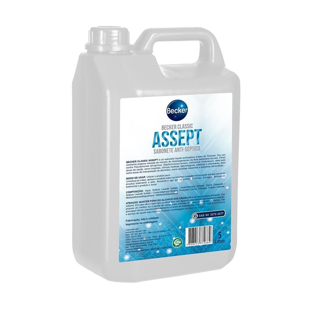 Sabonete Antisseptico 5L - Becker