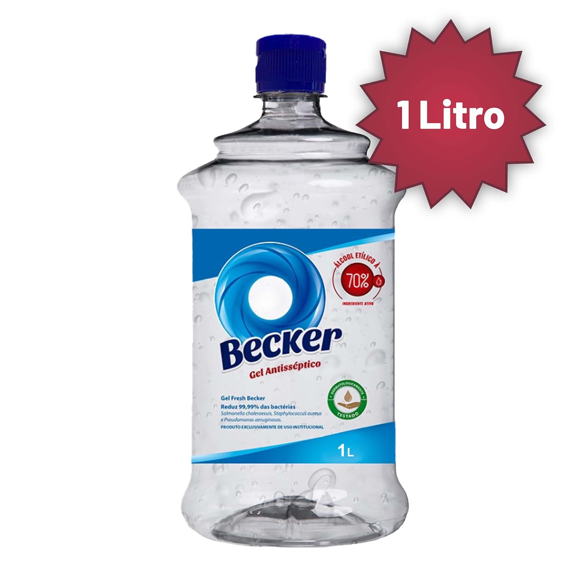 Alcool em Gel Becker 70 1 L