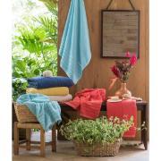Toalha de Rosto Home Design 100% Algodão Felpuda 50x70 cm Marinho - Santista