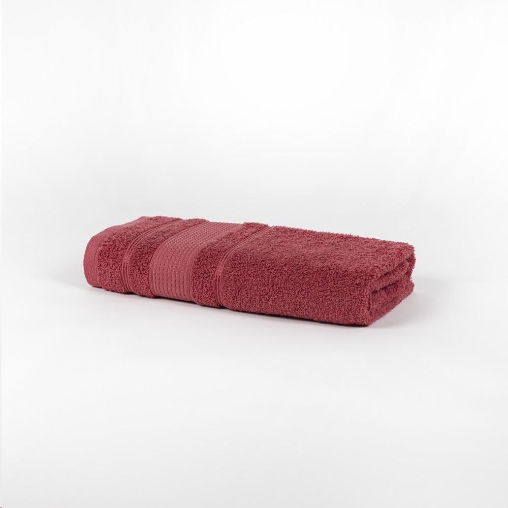 Toalha de Rosto 100 Algodao 41x70 cm Felpuda Rose - Santista
