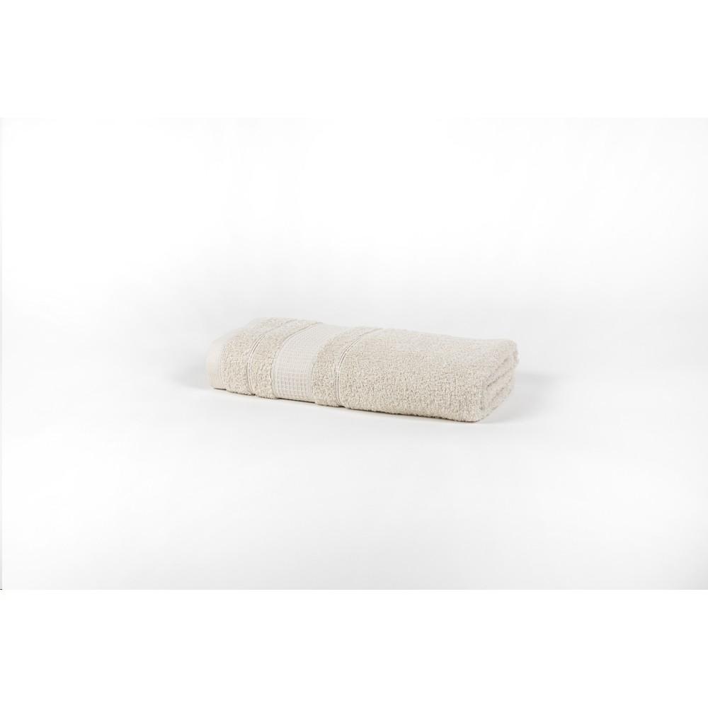 Toalha de Rosto 100 Algodao 41x70 cm Felpuda Areia - Santista