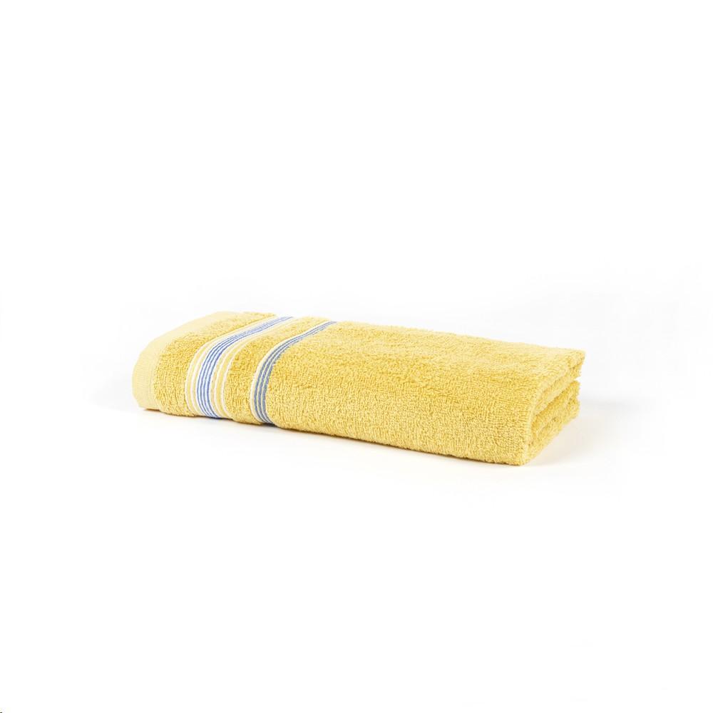 Toalha de Banho Royal Billy Amarelo 70x130 cm 100 Algodao - Santista