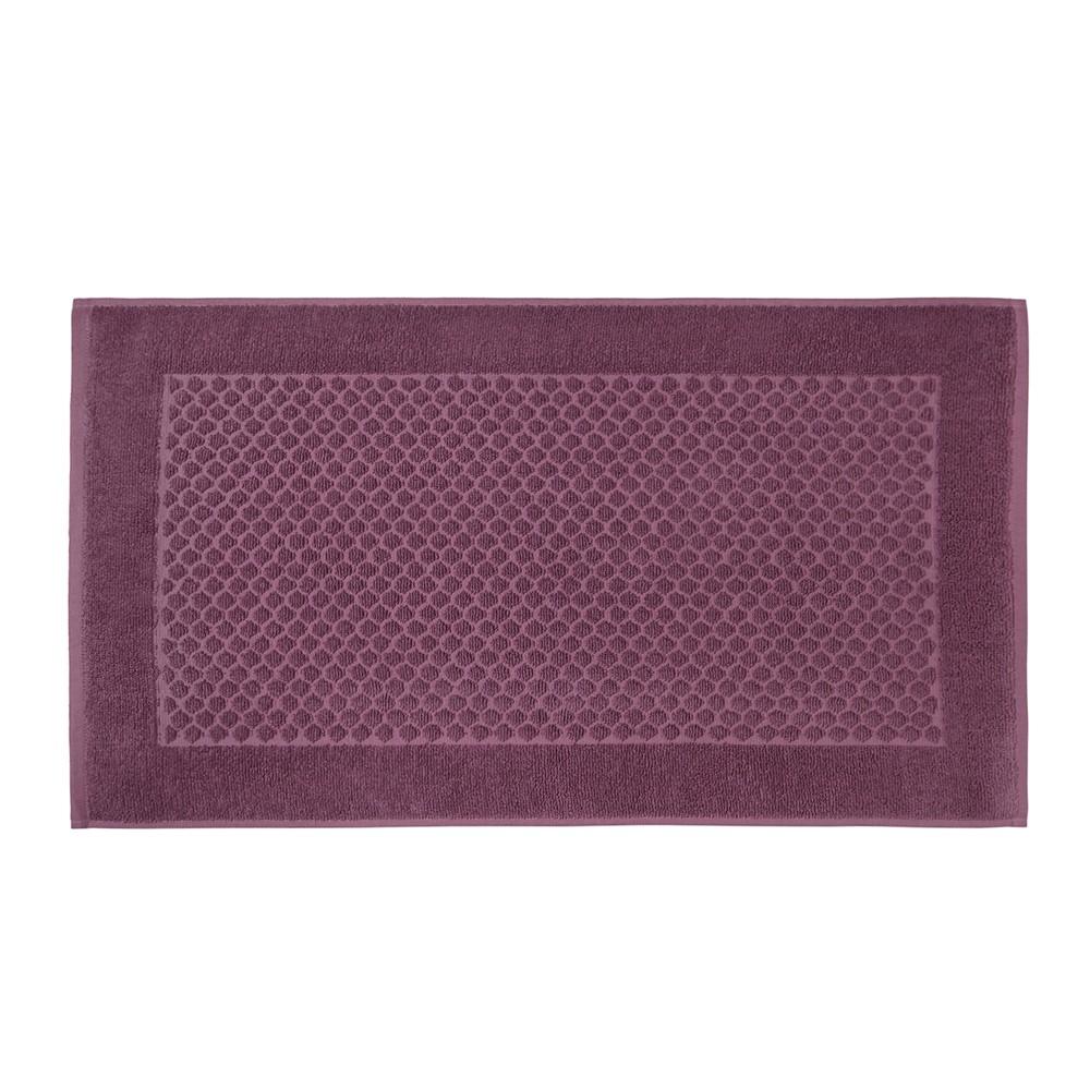 Toalha de Piso Artex Total Mix Felpudo 45x75 cm 100 Algodao Jacquard - Rosa Escuro