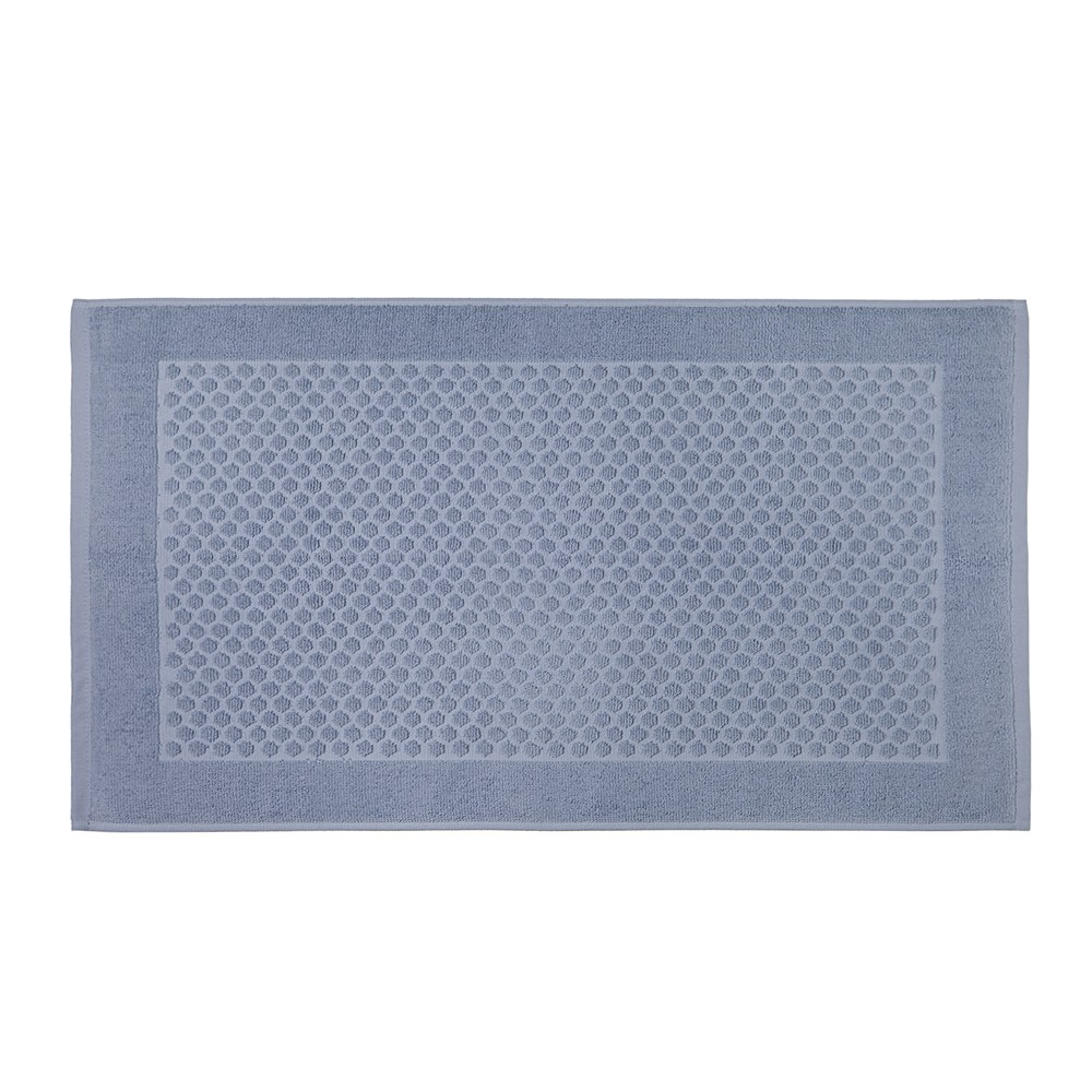 Toalha de Piso Artex Total Mix Basic Felpuda 100 Algodao - Azul Claro