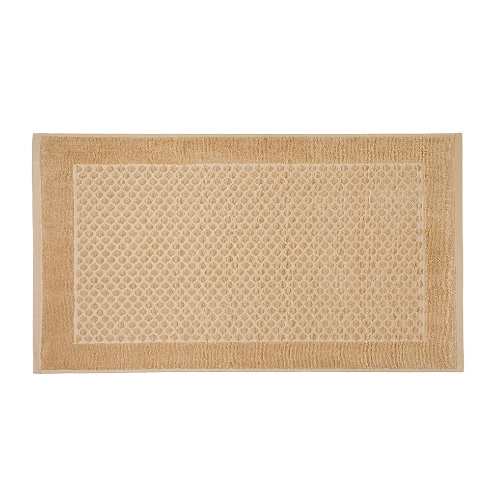 Toalha de Piso Artex Total Mix Felpuda 45x75 cm 100 Algodao - Amarelo