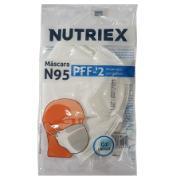 Máscara Descartável Sem Válvula PFF2 N95 Branca - Nutriex