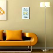 Placa Decorativa 29x19cm Frase 062 - Cia Laser