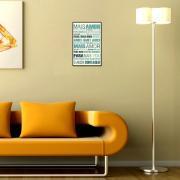 Placa Decorativa Madeira 29x19cm Frase 061 - Cia Laser
