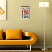 Placa Decorativa 29x19cm Frase 055 - Cia Laser