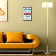 Placa Decorativa 29x19cm Frase 054 - Cia Laser