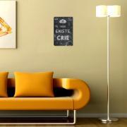 Placa Decorativa Madeira 29x19cm Frase 051 - Cia Laser