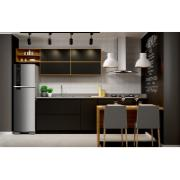 Geladeira/Refrigerador Brastemp Frost Free Duplex 375L Inox 127V - BRM45