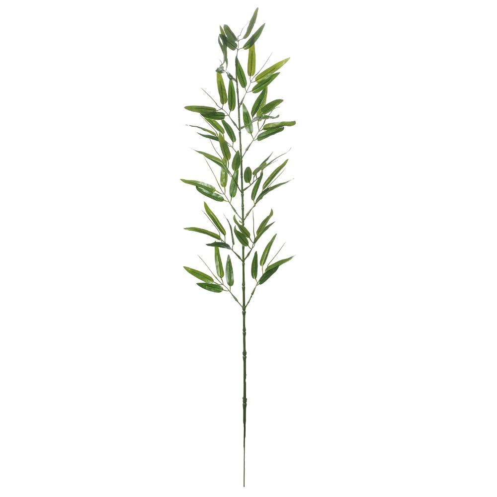 Haste Artificial Folha de Bambu 86cm Verde - Dea