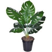 Planta Artificial Costela de Adão 60cm Verde