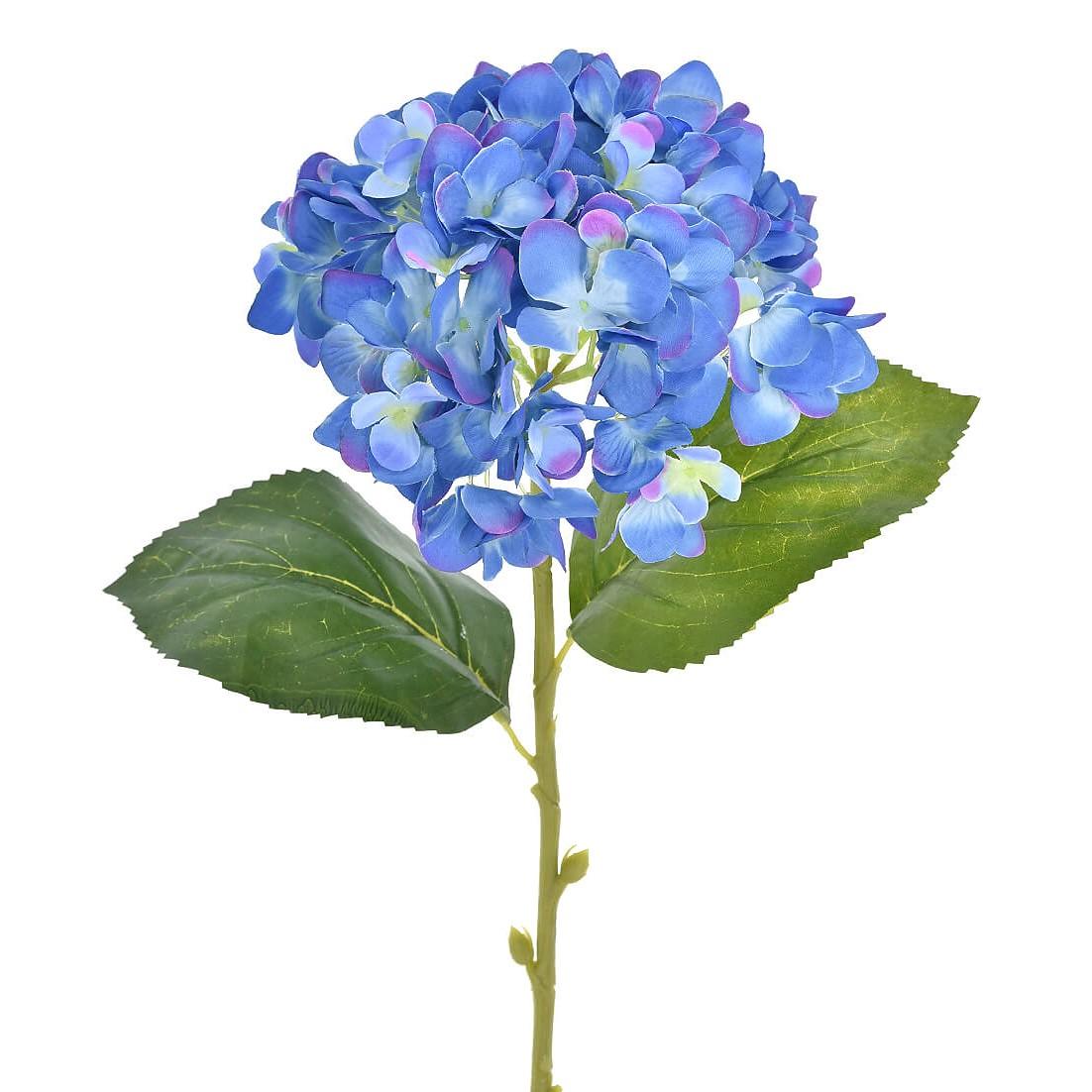 Haste Artificial Hortensia 60cm Azul