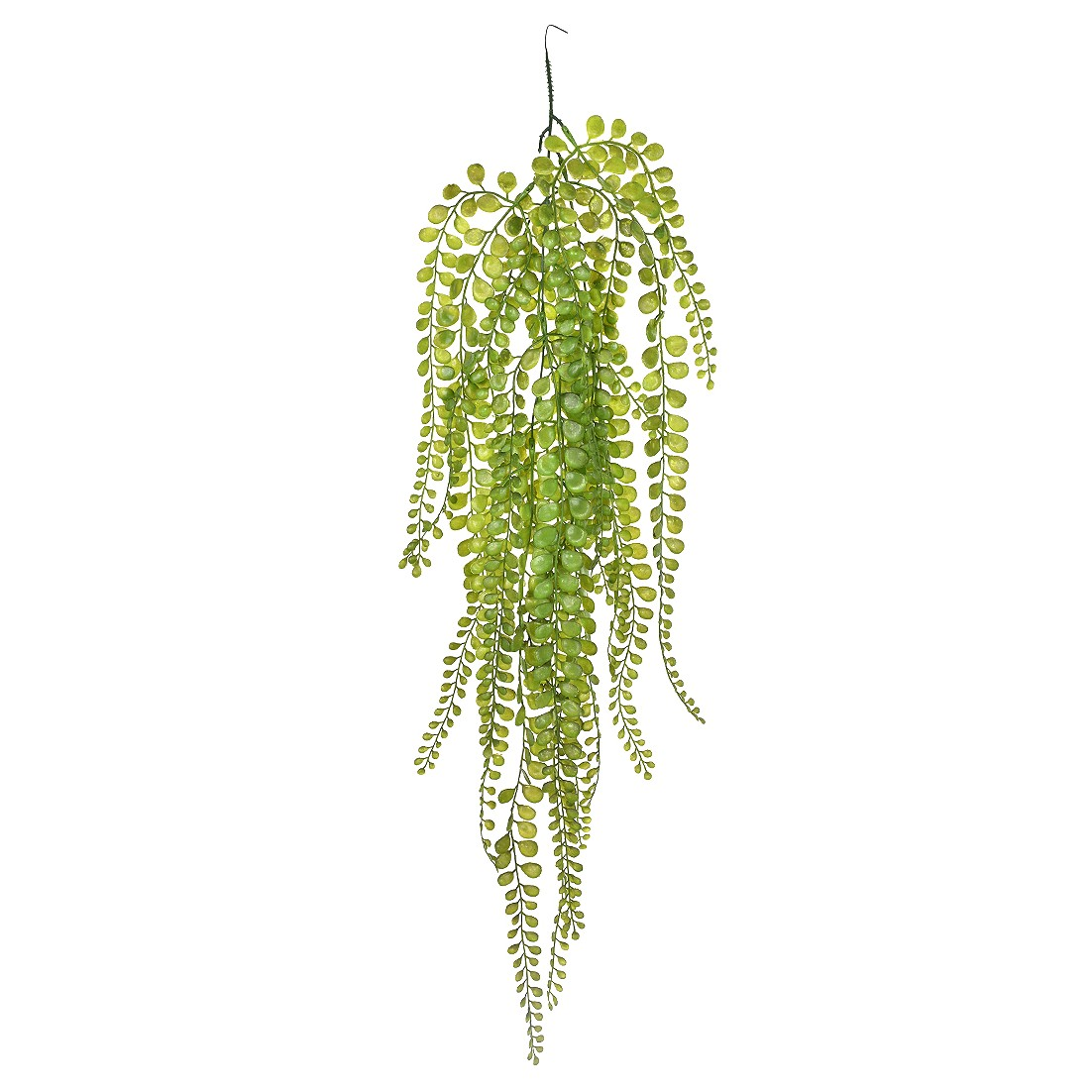 Haste Artificial Folhagem Orquidea 30cm Verde
