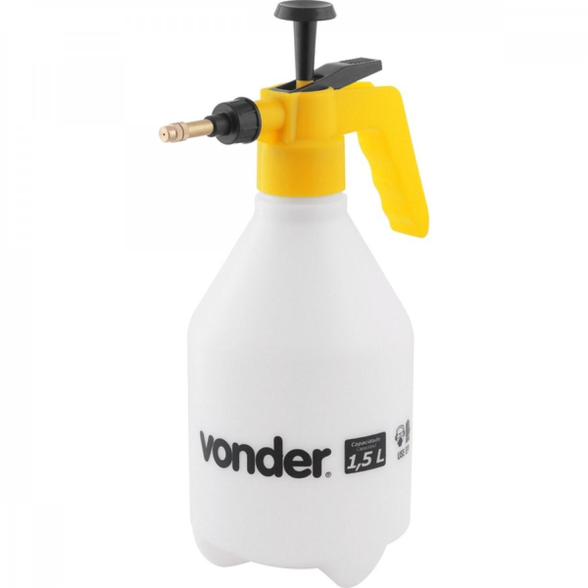 Pulverizador Manual Vonder Gatilho com Compressao Previa 15 Litros