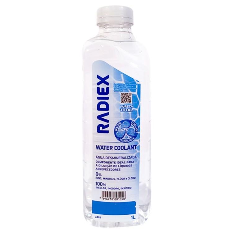 Agua Desmineralizada 1 Litro A902 - Radiex
