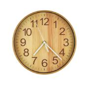 Relógio de Parede Disco 25cm Natural - Urban
