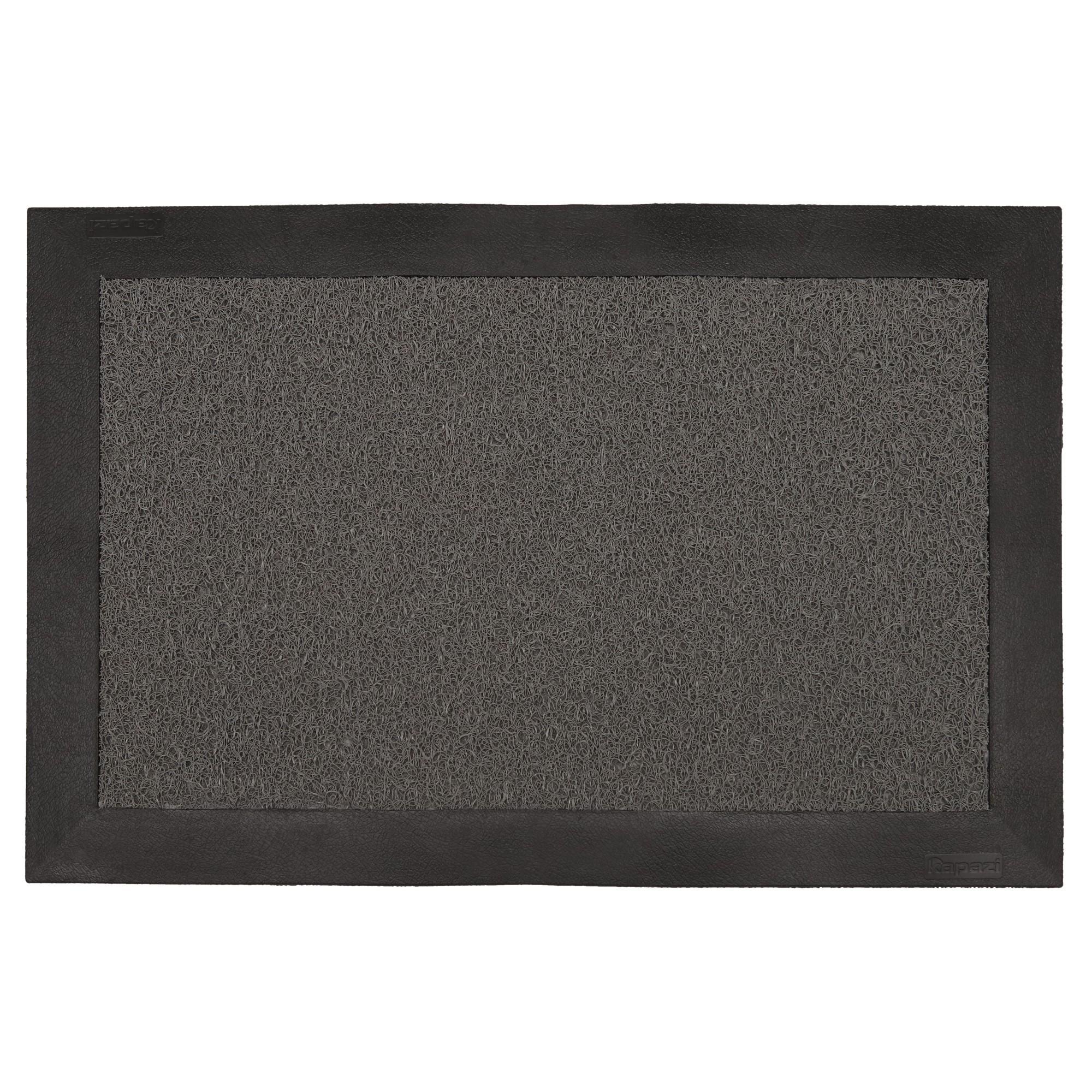 Tapete Sanitizante Pediluvio para Entrada Kapazi 60x80 cm Cinza TKS0501