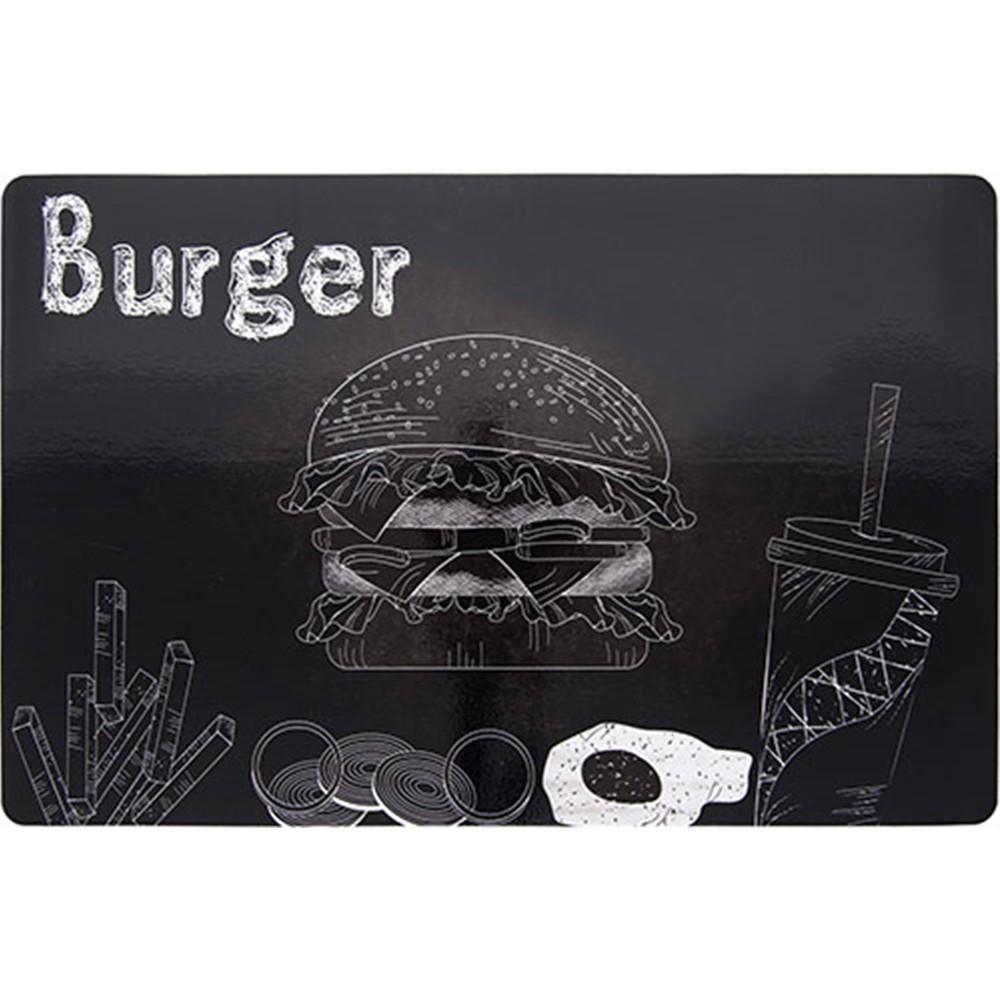 Jogo Americano Retangular 285x44 cm Burger - Copa e Cia