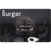 Jogo Americano Retangular 28,5x44 cm Burger - Copa e Cia