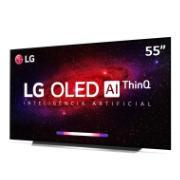 """Smart TV LG OLED 55"""" OLED55CX 4K/Ultra HD HDR10 Alexa Google Assistente Bluetooth ThinQ AI Processador a9 geração 3 Dolby Atmos"""