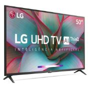 "Smart TV LED 50"" LG 4K/Ultra HD ThinQ AI HDR10 AI Sound - Wi-Fi 3 HDMI 2 USB Bluetooth- 50UN7310PSC"