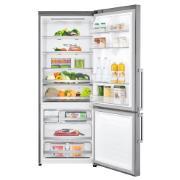 Geladeira/Refrigerador LG Frost Free Inverse 2 Portas Painel Touch Screen 451L Inox 220V - B659BSB