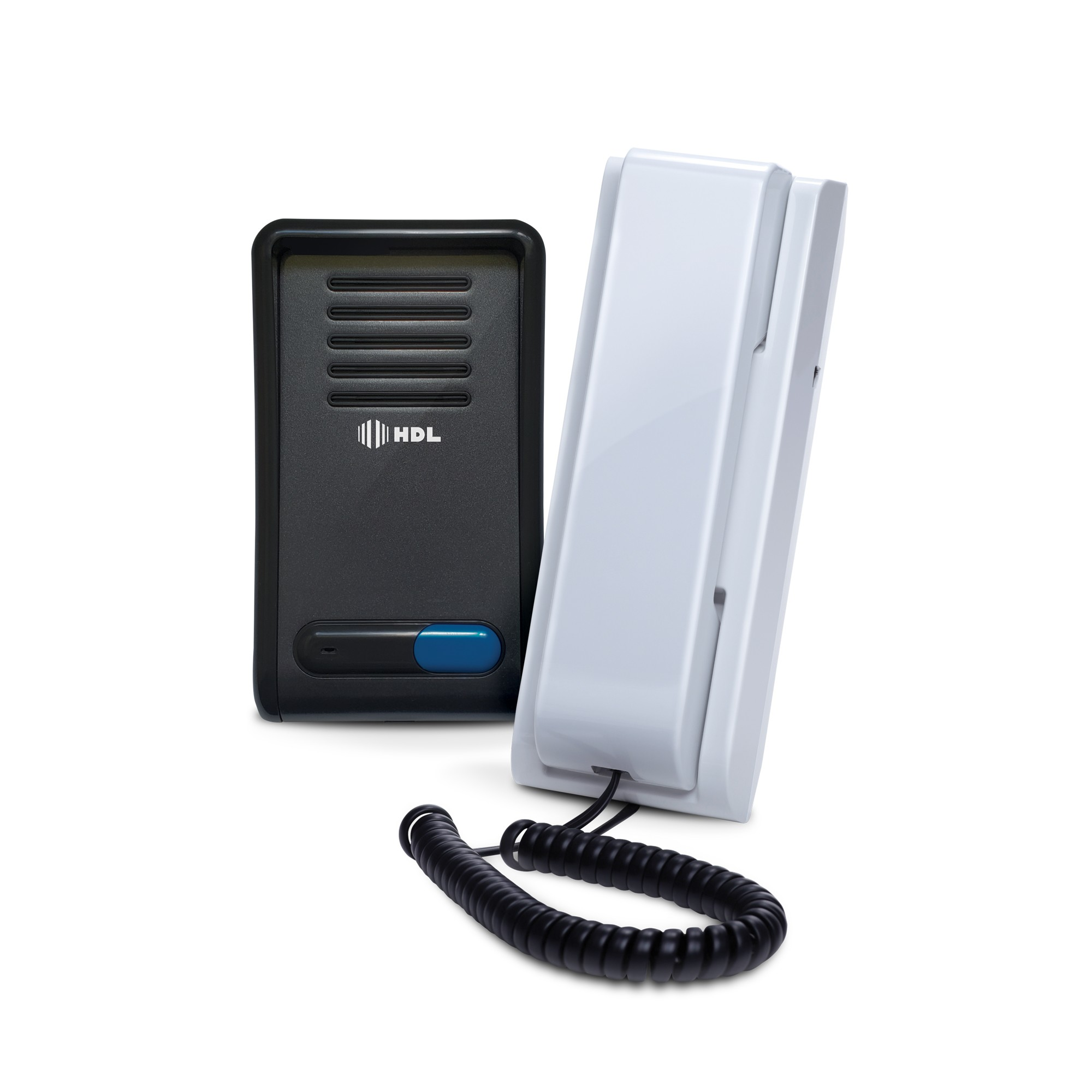 Porteiro Eletronico com Interfone F8-SN Grafite - HDL