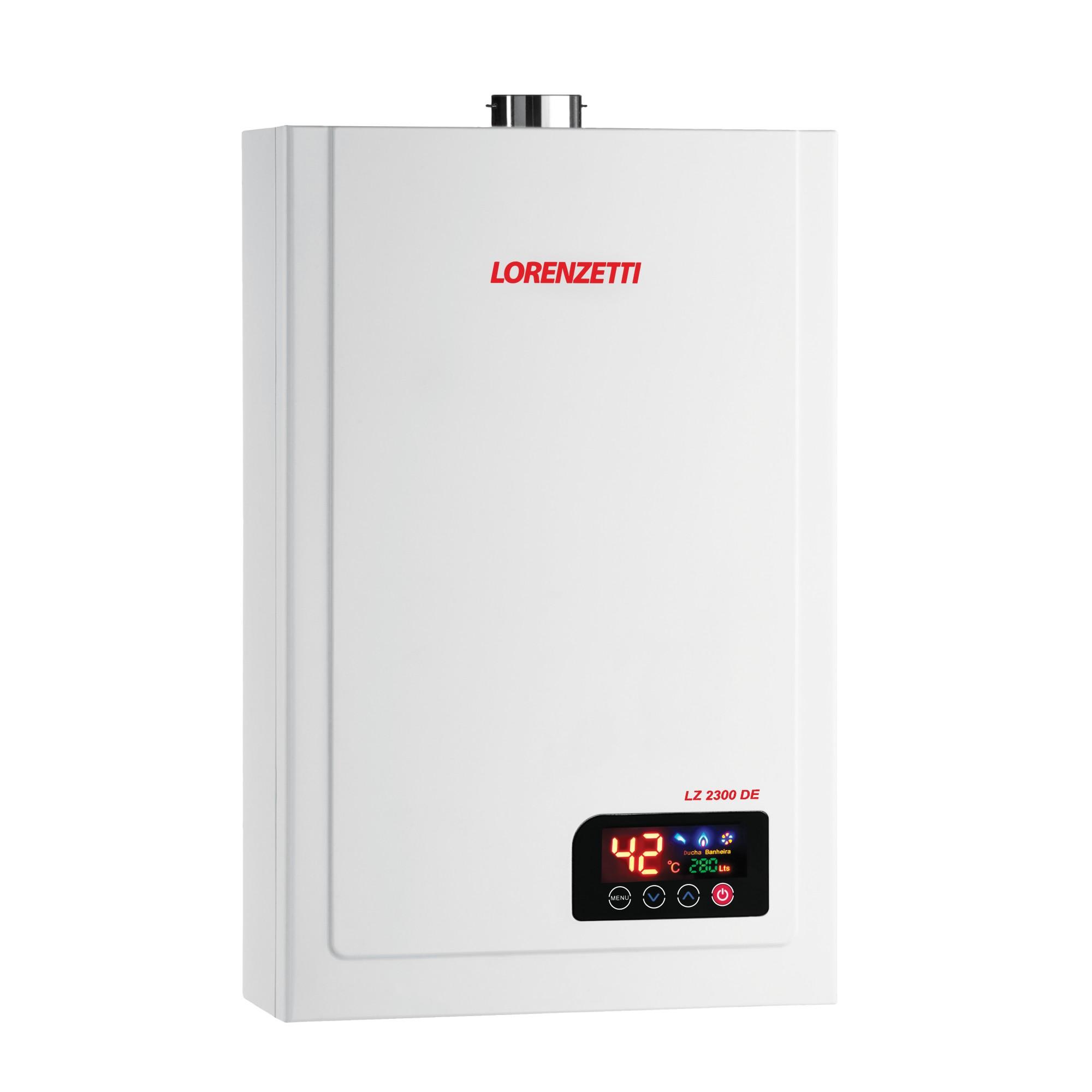 Aquecedor de Agua a Gas GLP 23 Litros LZ2300 - Lorenzetti
