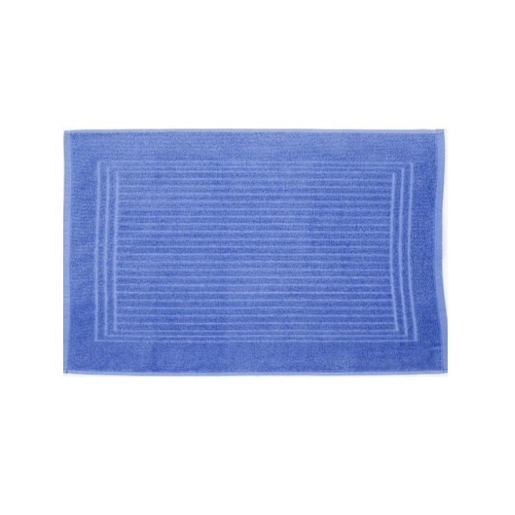 Toalha de Piso Santista Cedro 45x70 cm 100 algodao Felpuda Azul