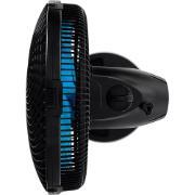 Ventilador de Mesa Cadence VTR560 Preto e Azul 127V - 30cm 3 Velocidades